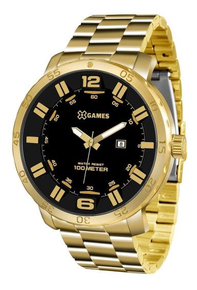 Relógio X-games Masculino Xmgs1022 P2kx Dourado Preto