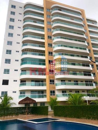 Vende-se Excelente Apartamento Alto Padrão No Residencial Varandas Do Nascente - Ap0320