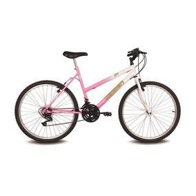 Bicicleta Aro 26 Live Branco E Rosa Verden Bikes