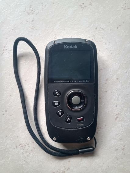 Câmera A Prova Dágua Playsport Zx5 Kodak