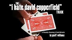 Magia Truco I Hate David Copperfield