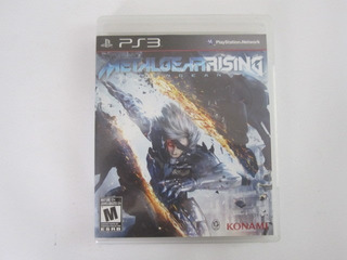 Metal Gear Rising Revengeance Ps3 Play Station 3 C