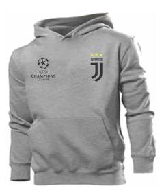 Blusa Moleton Canguru Futebol Champions Customizada A Melhor