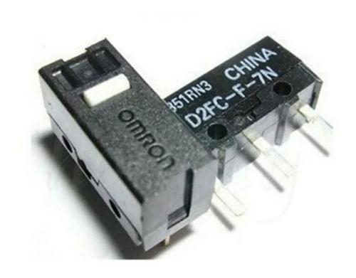 Imagen 1 de 8 de Par Micro Switch Omron D2fc-f-7n Para Mouse Logitech, Razer
