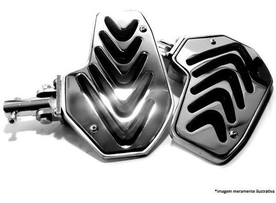 Pedaleira Plataforma Honda Shadow 600 - Cromada Dalavas