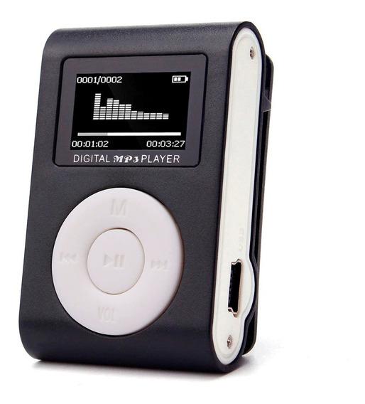 Mini Mp3 Player Stereo Rádio Fm Micro Sd Lcd