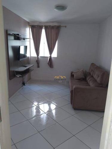 Imagem 1 de 22 de Apartamento Com 2 Dormitórios À Venda, 45 M² Por R$ 160.000,00 - Jardim São Luis - Guarulhos/sp - Ap0783