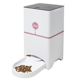 Comedouro Automático Com Aplicativo Playpet - Pink
