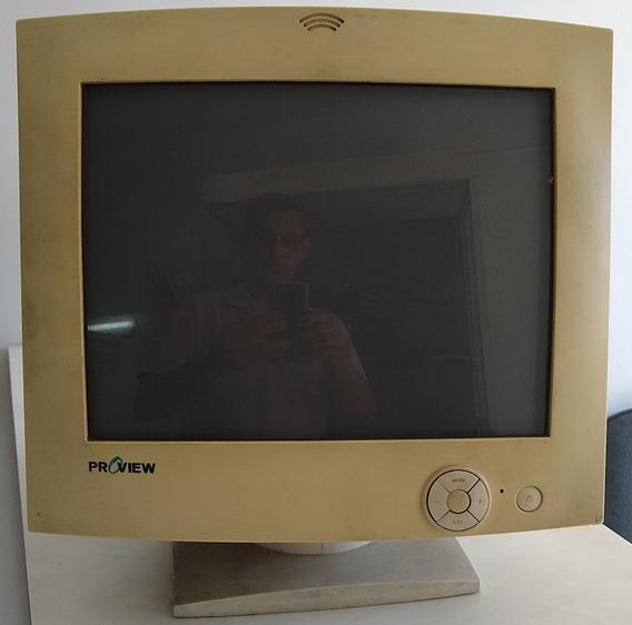 Monitor De Computador Em Cores Proview 14 Kx562k