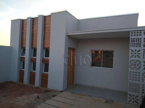 Imagem 1 de 27 de Casa Com 3 Dormitórios À Venda, 82 M² Por R$ 350.000,00 - Campos Do Conde - Piracicaba/sp - Ca3342