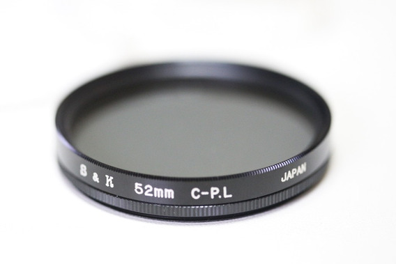 Filtro Polarizador S&k 52mm C-p.l