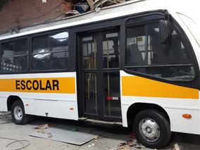 Micro Ônibus Ibrava Escolar 33 Lugares So 65000