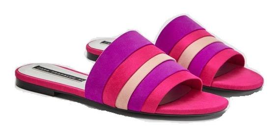 Sandalias Z.a.r.a. Fucsia-purple