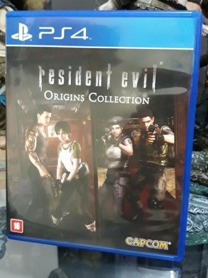 Jogo Resident Evil Origins Collection Ps4 Usado Seminovo
