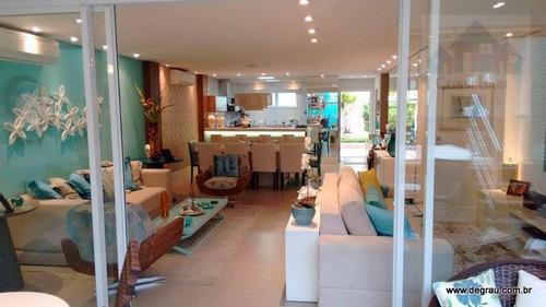 Casa Com 4 Dormitórios À Venda, 350 M² Por R$ 2.013.000,00 - Jardim Três Marias - Guarujá/sp - Ca0342
