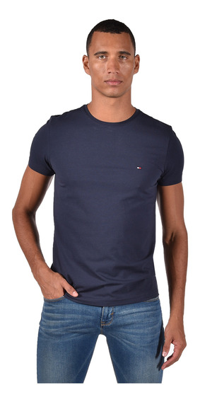 T-shirt - Tommy Hilfiger - 0867896625-416 - Azul Hombre