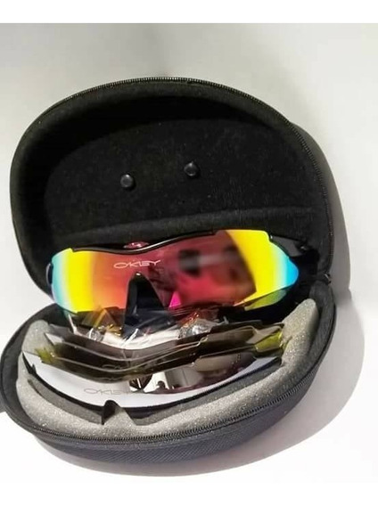 Gafas Oackey Usa 5 Lentes Polarizadas Uv 400