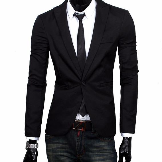 Blazer Slim Fit Masculino Casual Importado Pronta Entrega