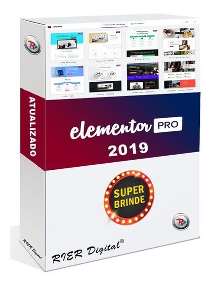 Elementor Pro 2019 + Extensões + Brindes