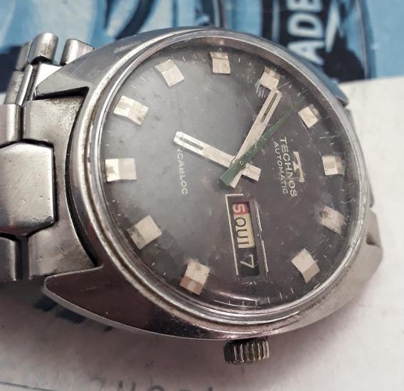 Relógio Technos Automático Máquina Eta 2788