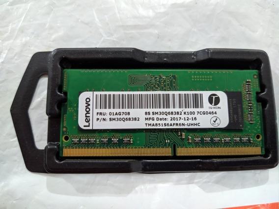 Memória 4gb Ddr4 2400mhz Lenovo P/ Notebook