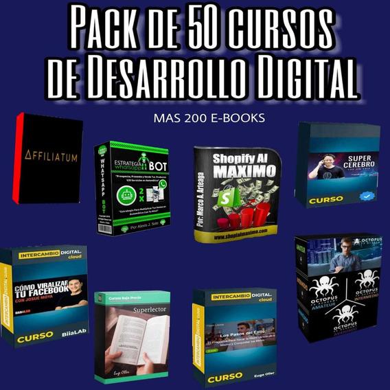50 Cursos Digitales (varios) Trading,ventas,marketing
