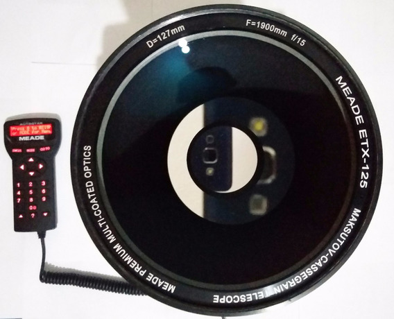 Telescópio Meade Etx 125 Goto Autostar Semi-novo Pgto Em 12x