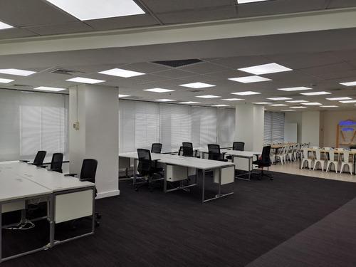 Oficina 350m Open Space Recién Habilitada Sanhattan