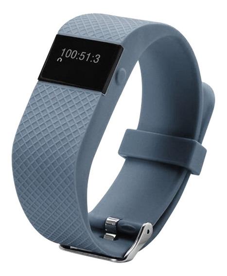 Stylos Reloj Deportivo Brazalete Inteligente Bluetooth Plata