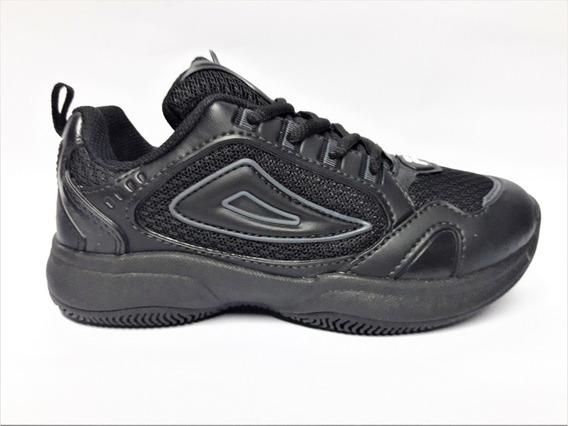 Zapatillas Fila Attrek Infantil Negra