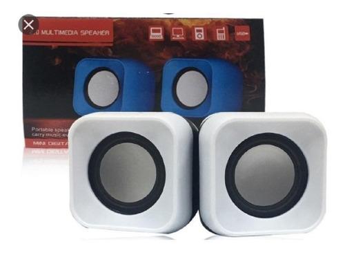 Parlante Portatil  Stereo Computador Pc Altavoz Multimedia