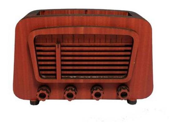 Radio Decorativo Vermelho