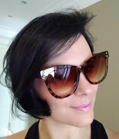 e09a348ab Óculos De Sol Estampa De Onça - Óculos no Mercado Livre Brasil