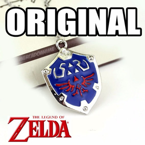 Colar Legend Of Zelda Escudo Link Hylian Cosplay Original