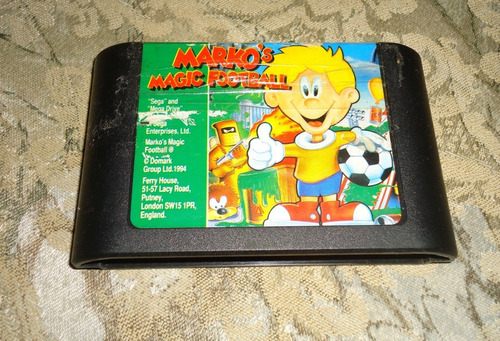 Marko's Magic Football Original  - Mega Drive