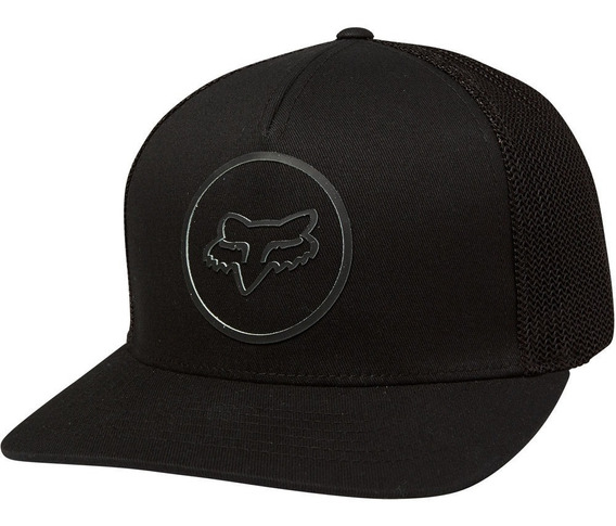 Gorra Fox Clutch Flexfit Cachucha Mtb Moto Bmx Negra
