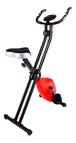 Bicicleta Magnética Plegable Con Monitor Lcd