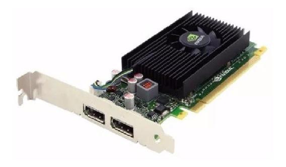 Placa Nvidia Nvs 310 512mb Displayport C/ Adaptadores Vga