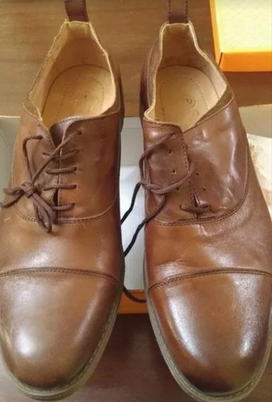 Zapatos Batistella Talle 43 Cuero Legitimo Suela Goma Oferta