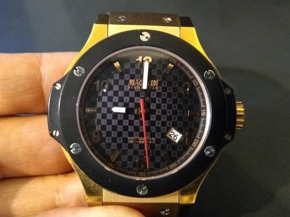 Relógio Big Bang Original Magnum Safira Scuba 200metros