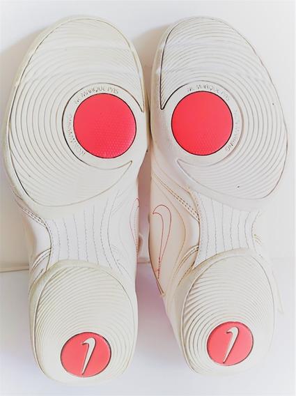 Zapatillas Cuero Blanco, Modelo Tenis, Nro.41, Impecables