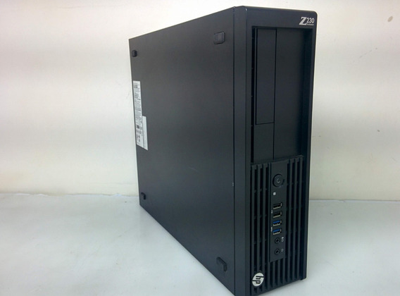 Workstation Hp Z230 I5 Ssd 120gb 16gb Ddr3 Quadro + Brinde