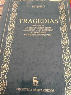 Tragedias De Esquilo Gredos