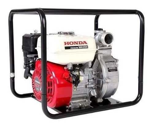 Motobomba Honda Wh20x 5,5 Hp 4,2 Bar Nafta 500 L/m Alta Pres