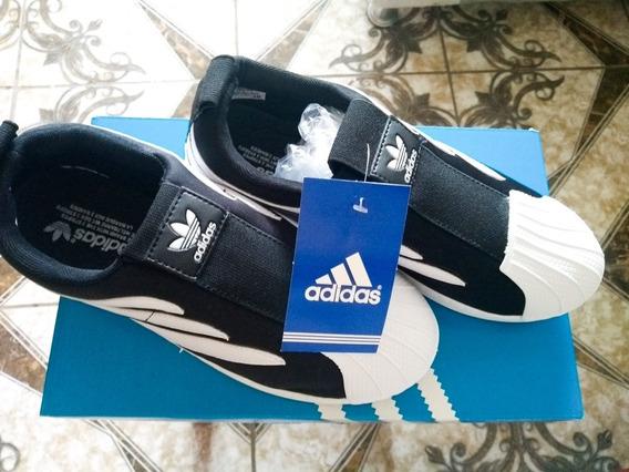 Tênis adidas Preto E Branco Novo
