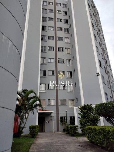 Apartamento Com 2 Dormitórios À Venda, 44 M²- Conjunto Residencial José Bonifácio - São Paulo/sp - Ap1428