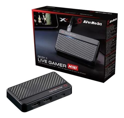 Imagem 1 de 3 de Placa De Captura Hdmi Avermedia Live Gamer Mini Lgm Gc311