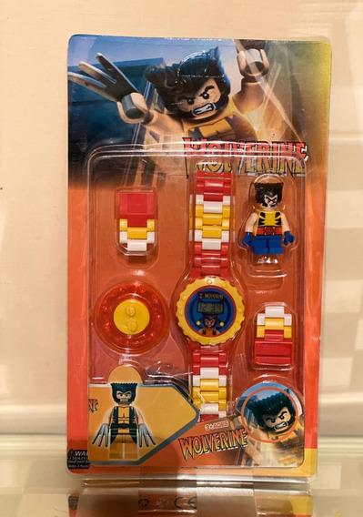 Reloj Lego Wolverine