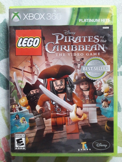 Lego Pirates Of The Caribbean The Video Game Xbox 360