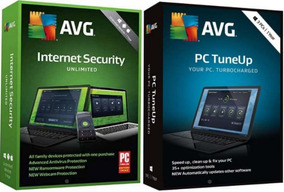 Avg Internet Security 2019 + Pc Tuneup 2019 1 Ano + 5 Pcs